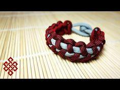 Stitched Solomon Bar Paracord Bracelet Tutorial - YouTube