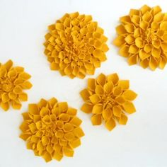 Felt Flower Tutorial {Felting}
