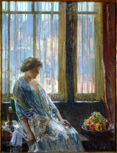 Childe Hassam  I love his paintings very much.