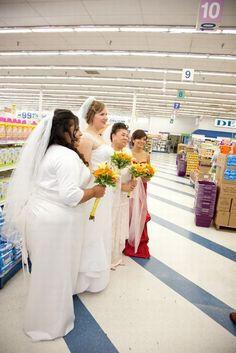 Wedding at Walmart