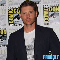 JensenAckles in the #Supernatural #sdcc press room
