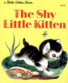 The Shy Little Kitten By Cathleen Schurr With Pictures Gustaf Tenggren