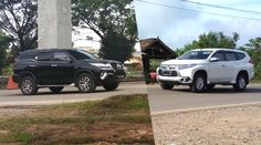 Comparison of Toyota Fortuner vs Mitsubishi Pajero. Which one is more powerfull, more fuel efficient and better for family car. Mitsubishi Pajero Sport, Chevrolet Captiva, Large Suv, Fuel Efficiency, Kia Sorento, Small Engine, Diesel Engine, Long Distance, Toyota