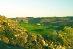 11th hole at Tierra Rejada Golf Club 210 yard par 3