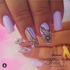 Wow Nails, Cute Acrylic Nails, Nail Arts, Manicure, Nail Designs, Pretty, Beauty, Blog, Pretty Nails