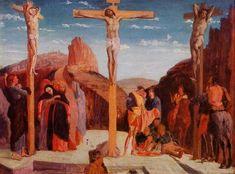 The+Crucifixion+(after+Mantegna),+1861+-+Edgar+Degas