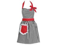 Pretty Kitchen Aprons - Cute Vintage Aprons - Country Living