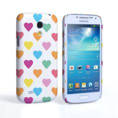 Samsung Galaxy S4 Mini Polka Hearts Pastel Case  #Polka #Hearts #Pastel #LoveHearts #Orange #Purple #Blue #Yellow #Valentine #Love #ValentinesDay #Gift #Present #SamsungGalaxyS4MIni #SamsungGalaxy #GalaxyS4Mini #S4Mini #SamsungS4Mini #Case #Cover #HardCase #PhoneCover #valentinesgifts