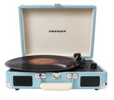 Crosley Cruiser Portable Turntable - Turquoise