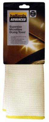 Halfords Supersize Microfibre Drying Towel