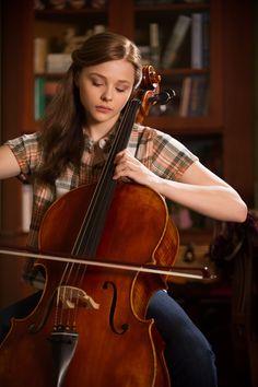 Chloe Grace Moretz plays cello in If I Stay Stay With Me, Castle Tv, Castle Beckett, If I Stay Movie, I Movie, Jason Mraz, Brad Paisley, Chloe Grace Moretz, Hit Girl