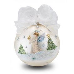Christmas Window Decorations, Painted Christmas Ornaments, Hand Painted Ornaments, Angel Ornaments, Christmas Crafts, Christmas Arrangements, Christmas Ideas, Christmas Snow Globes, Christmas Balls