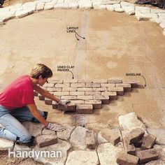 Build a Stone Patio or Brick Patio - Step by Step | The Family Handyman