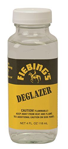 Fiebings Deglazer 4 oz Clear *** Details can be found by clicking on the image. (Note:Amazon affiliate link)