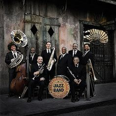 If you ever are in New Orleans and get a chance to go to Preservation Hall... DO IT!!! It's the Carnegie Hall of jazz!