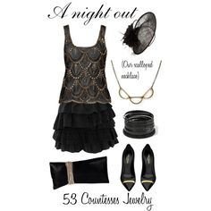 """""""A night out"""" by countess-flower on Polyvore  www.53countesses.blogspot.com"""
