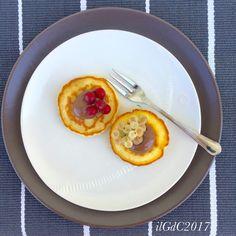 il giardino dei ciliegi: Pancakes al miele con Nutella (senza glutine)