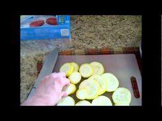 How to Freeze Zucchini w Chef Janie Pendleton