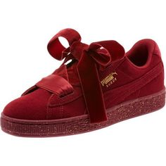 3bf03a68ff3 NEW PUMASuede Heart Winter Velvet JR Sneakers Tibetan Red  fashion   clothing  shoes