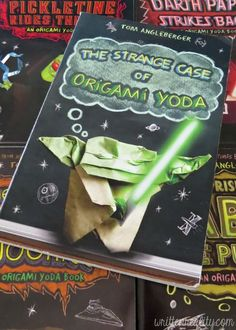 Upper Elementary and Middle Grade Boys LOVE The Origami Yoda Files! great hands-on books to keep boys reading