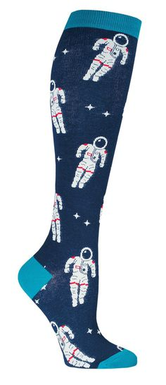 Astronaut Knee High Socks from The Sock Drawer