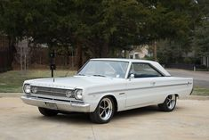 American Racing Wheels, American Muscle Cars, Cherry Bomb Exhaust, Plymouth Muscle Cars, Chrome Door Handles, Plymouth Belvedere, Mopar Or No Car, Exterior Trim, Wheels And Tires