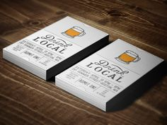 Drink Local - Admit One (idea)