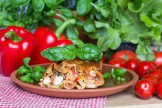 Mamma Mian Cannelonit, eli Pastaputket Mozzarella, Recipies, Cooking Recipes, Pasta, Stuffed Peppers, Baking, Vegetables, Foods, Italia