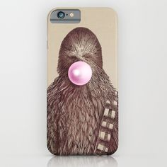 Chewie iPhone 6 case on Society 6