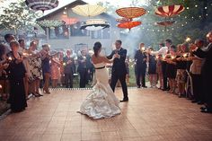 My friend Erin's amazing old world circus wedding.  I hope I can be as creative and stylish whenever that day comes for me!
