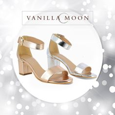 Perfect pair of block heels for polished charm. #VanillaMoon #VanillaMoonShoes #BlockHeels