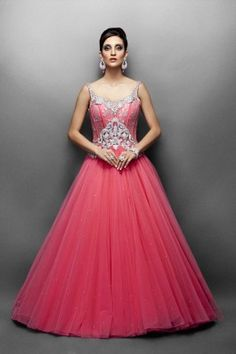 Designer Gown Wedding Latest Collection Best For Bride Bridal Pink
