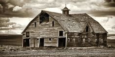 Old Barn in B & W (Sepia) - Old Barn in B & W (Sepia) A little help from Silver Efex Pro 2