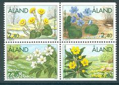 ALAND 1997 stamps Spring Flowers um (NH) mint