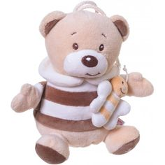 Peluche ours musical Bubu