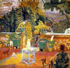 The Terrace at Grasse Pierre Bonnard - 1912
