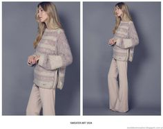 Sweaters tejidos invierno 2015 Agostina Bianchi.