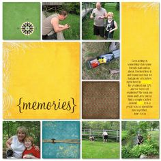 Geocaching scrapbook.  I have one for my son, used Creative Memories so that it will last forever.