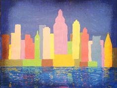 Sunrise Over Philadelphia Art Photo Print.