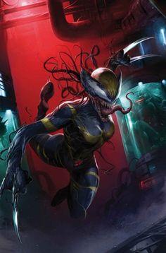 #Venom #Fan #Art. (Edge Of Venomverse #1 Cover) By: Francesco Mattina. ÅWESOMENESS!!!™ ÅÅÅ+
