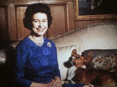 The Queen's favourite corgi, Sparky, sadly passed away and his heartbroken master personally took charge of burying him.