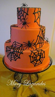 10 homebaked halloween pinterest halloween 2016 - Halloween Cakes Decorations