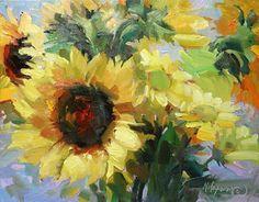 The Sunshine Bunch  oil  Mary Maxam