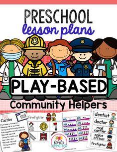 Preschool Lesson Plans- Community Helpers