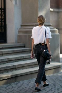 10 Exclusive Summer Outfits To Keep - Casual Fashion Trends Collection. Love this outfit. The Best of casual outfits in Looks Street Style, Looks Style, Style Me, Parisian Street Style, Simple Street Style, Minimalist Street Style, Minimalist Chic, Parisian Fashion, Simple Style