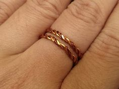 handmade jewelry tutorials - Wire Jewelry Lessons - DIY - How to make twisted ring - YouTube