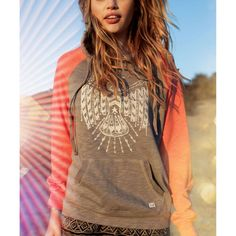 Getting chilly? Stop by Kismet and grab a super cute hoodie like this one from Billabong!