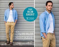Old Khaki Rob shirt- Summer Must Have