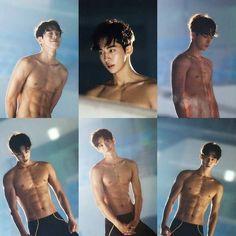 Jeong Joon Hyung in Weightlifting Fairy Kim Bok Joo Hot Asian Men, Asian Boys, Cute Korean, Korean Men, Korean Boys Hot, Asian Actors, Korean Actors, Jong Hyuk, Nam Joo Hyuk Abs