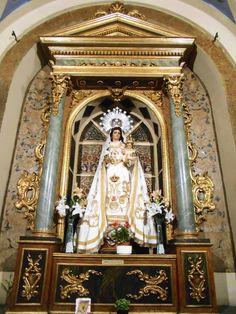 Capilla de la Virgen de la Salud. Imagen del siglo XIX